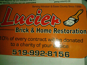 Professional BRICK LAYER- 30 YEARS experience! FREE Estimate!