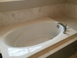 Bath tub in the price of faucet