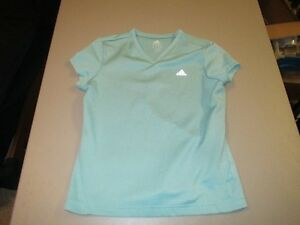 Womens Green Adidas Athletic Top