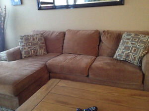 Sectional Sofa, chair & ottoman (Broyhill)