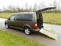 2013 Volkswagen Caddy Maxi Life 1.6 Tdi ONLY 30K Wheelchair Accessible Vehicle