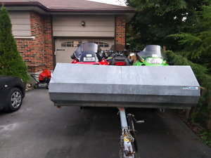 Trailer and 3 Sleds - $5,000 FIRM