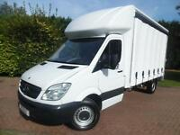 2012 Mercedes-Benz Sprinter 313 2.1 CDI LWB HALF LUTON HALF CURTAINSIDE