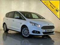 2016 66 FORD S-MAX ZETEC TDCI 7 SEATS PARKING SENSORS 1 OWNER SERVICE HISTORY