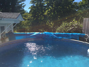 18 ft solar cover for pool