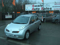 2003 NISSAN MICRA E 1L ONLY 90,567 MILES, FULL SERVICE HISTORY