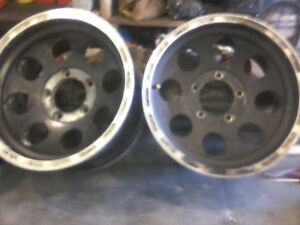 Full set of 4 Ford 16x8.......1/2ton or 4x4 Aluminum rims