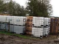 1000 litre totes clean food grade storage for rain water