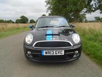 2013/63 MINI HATCH 2.0 COOPER SD BAYSWATER 3DR BLACK - SPECIAL EDITION! + EXTRAS