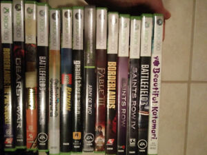 Xbox 360 and Gamecube games