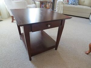 coffee and 2 end table