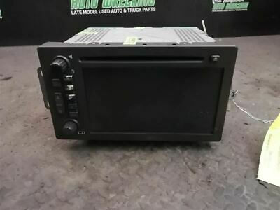 Audio Equipment Radio Am-fm-stereo-cd-navigation Fits 05-06 ESCALADE 2034131
