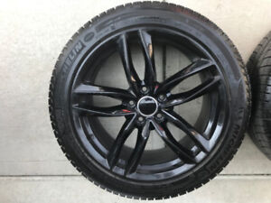 Winter Tires and Rims from 2015 Mercedes C-Class (225/45R18)