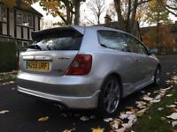 Honda Civic 2.0 I Vtec Type R Ep3 12 Months Mot Full Service History Good Milage