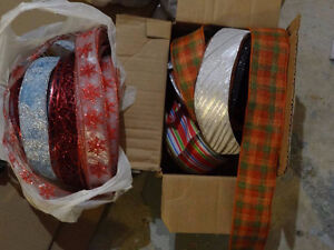 * Price dropped * - TONS of wired ribbon