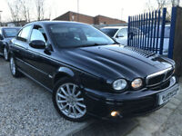 ✿05-Reg Jaguar X-TYPE 2.0 V6 S, Black ✿VERY LOW MILEAGE✿