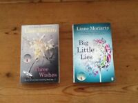 Holiday books:- Liane Moriarty; Big Little Lies, Three Wishes
