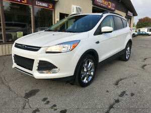 2014 FORD Escape SE/TITAMIUM, AWD/ecoboost/toit pano/cuir