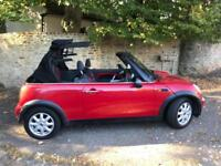 2005 Mini Cooper, Convertible, full MOT, nice and tidy!