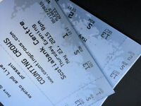 2 Lower Bowl Counting Crows Tickets  - Only $ 100.00