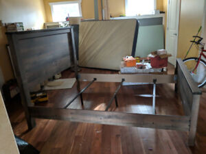 Bed Frame w/ Optional Mattress and Box Spring