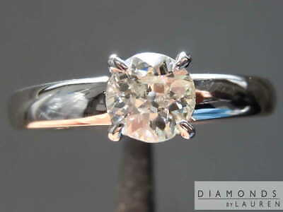 0.56ct J I1 Old European Brilliant Diamond Ring R8335 Diamonds by Lauren