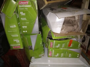 Lot of Coleman Quickbeds air mattresses - 7 in all.