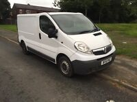 Vauxhall Vivaro SWB 2.0CDTI low mileage, very good condition.