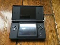 Black Nintendo DS lite console only