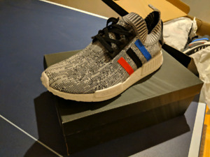 Deadstock White NMD tricolors 11.5