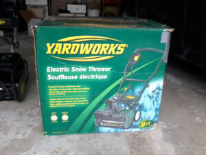 "20"" Electric Snowblower for Sale $100"