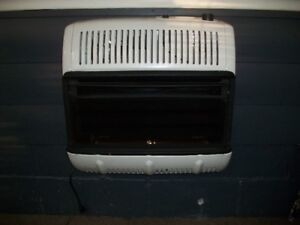 Wall Mounted Propane Ventless Heater with Fan