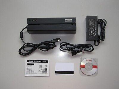Msr606 Magnetic Stripe Credit Card Readerwriter Encoder Swipe Magstripe