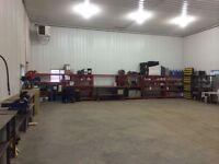 HD mechanical repair shop