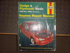 1995, 1996, 1997, 1998 neon Neon repair manual
