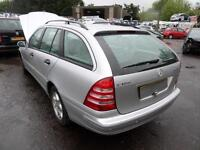 Mercedes-Benz C180 Kompressor auto 2003 Classic SE DAMAGED REPAIRABLE SALVAGE
