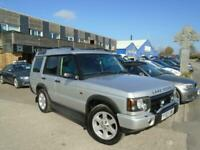 2003 (03) LAND ROVER DISCOVERY 2.5Td5 ES AUTO 7 Seat Silver Leather Automatic SH, used for sale  Penryn, Cornwall