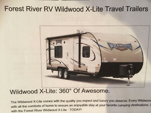 New 2017 Wildwood  X Lite 241QBXL travel trailer by Forest River