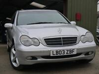 Mercedes-Benz C220 2.1TD auto 2003MY CDI Classic SE. NEW MOT. VERY CLEAN