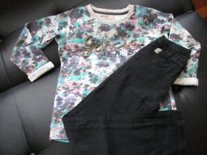 Garcia Top & Jeggings Youth Size 14