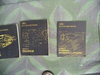 1973 FORD SHOP MANUALS - SET OF 5 FROM FORD