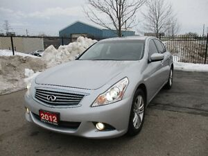 2012 INFINITI G37X AWD SUNROOF NO ACCIDENT!!!