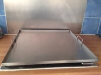 Catering steel trays (10 available )