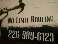 For a hole in your roof, or a whole new roof we got you covered