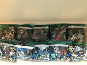 Sorted Lego - 10 Large Zip Lock Bags - $100 for ALL