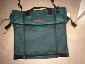 Sports cushion, green, exc cond. ...dont think used....relative