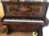 Antique piano. Probably 1930s