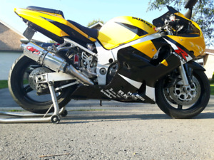 2002 GSXR 600 going into storage soon