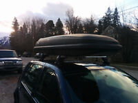 Roof Rack and Ski Box For Sale