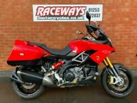 APRILIA CAPONORD 2013 13 REG RED 14,368 MILES 1197CC USED MOTORCYCLE
